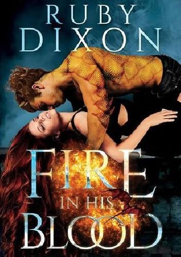 Okładka książki Fire in his blood