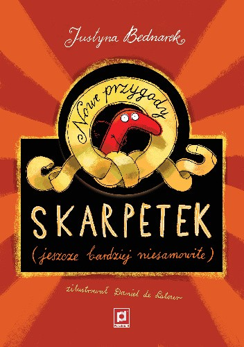 Okładka książki Nowe przygody skarpetek (jeszcze bardziej niesamowite)