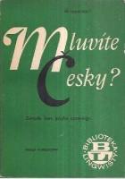 Mluvite cesky? Zwięzły kurs języka czeskiego
