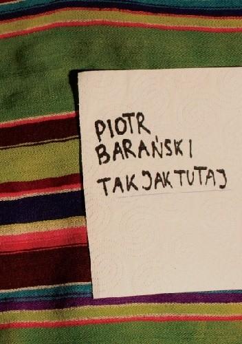 Okładka książki Tak jak tutaj