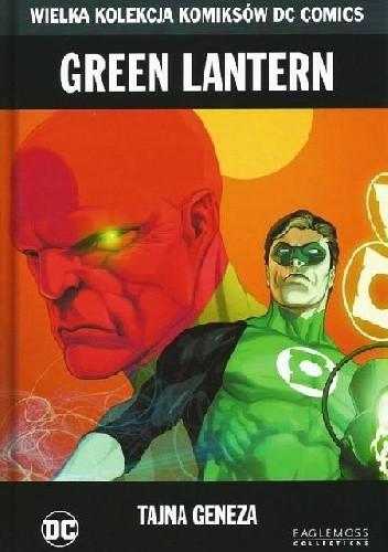 Okładka książki Green Lantern: Tajna Geneza