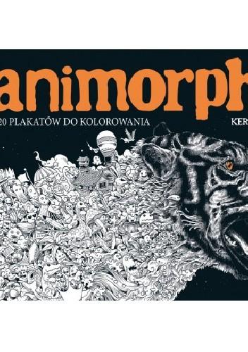 Okładka książki Animorphia. 20 plakatów do kolorowania