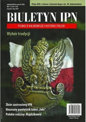 Okładka książki Biuletyn IPN, nr 1-2 (134-135) * styczeń-luty 2017