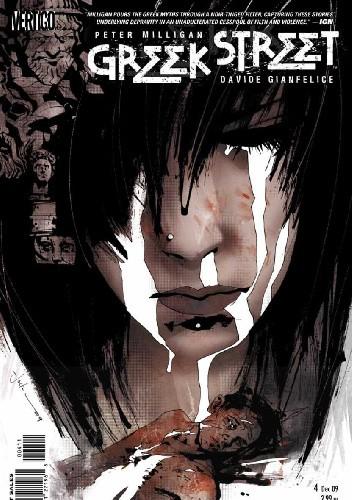 Okładka książki Greek Street #4 - Book One: Blood Calls For Blood, Part Four: The Monster and the Labyrinth