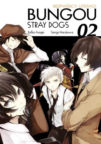 Okładka książki Bungou Stray Dogs - Bezpańscy Literaci #2