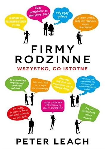 Okładka książki Firmy rodzinne. Wszystko co istotne