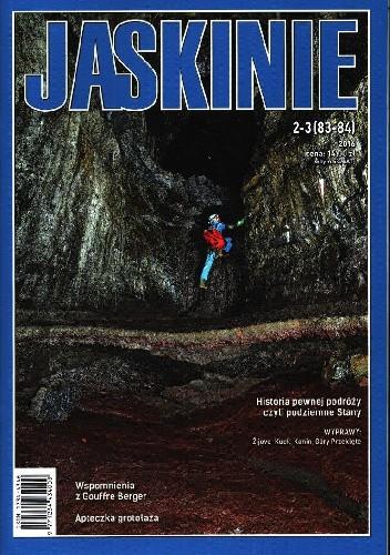 Okładka książki Jaskinie 2-3/2016