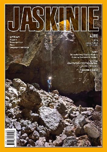 Okładka książki Jaskinie 4/2016