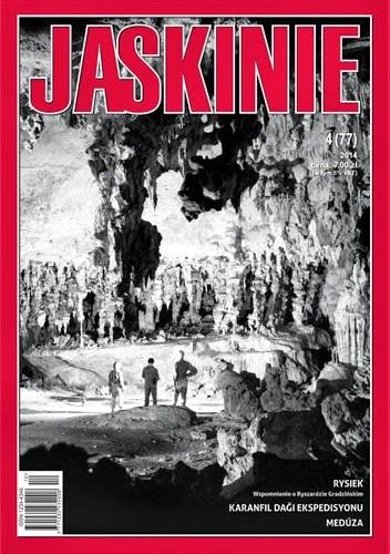 Okładka książki Jaskinie 4/2014