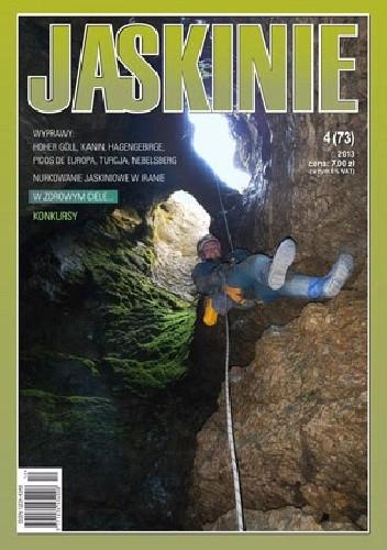 Okładka książki Jaskinie 4/2013