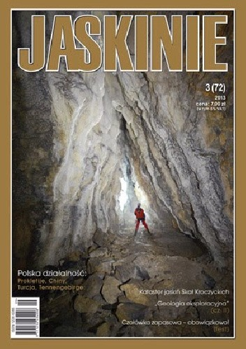 Okładka książki Jaskinie 3/2013