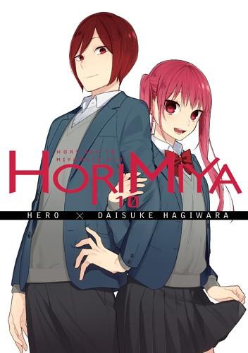 Okładka książki Horimiya 10