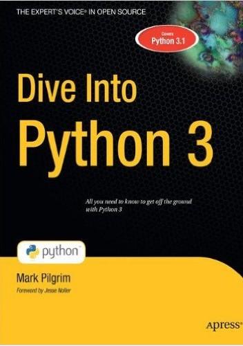 Okładka książki Dive Into Python 3