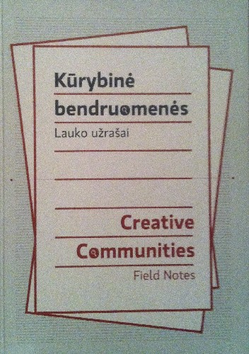 Okładka książki Creative Communities. Field notes