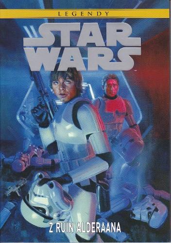 Okładka książki Star Wars: Z ruin Alderaana