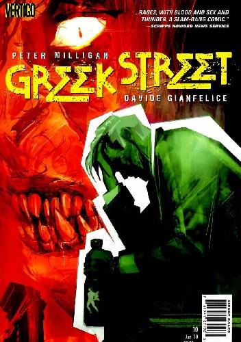 Okładka książki Greek Street #10 - Book Two: Cassandra Complex, Part Five: Oracle