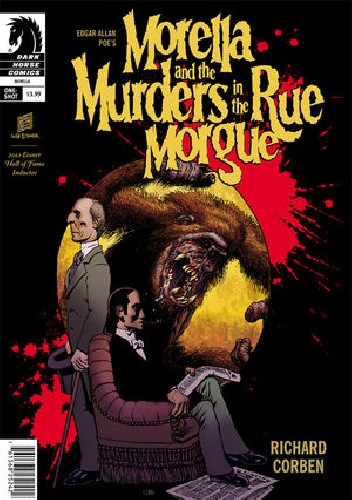 Okładka książki Edgar Allan Poe's Morella and the Murders in the Rue Morgue