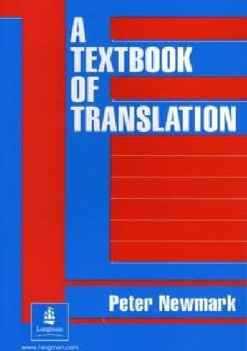 Okładka książki A Textbook of Translation