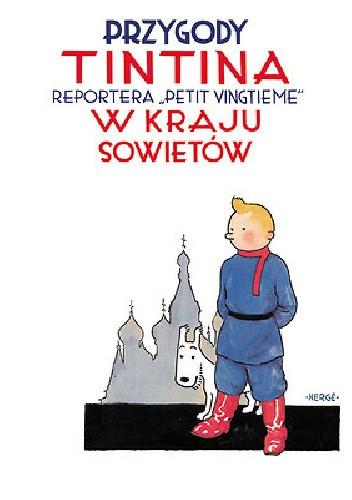 Okładka książki Tintin w kraju Sowietów