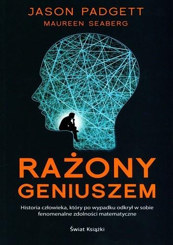 Okładka książki Rażony geniuszem