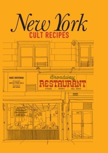 Okładka książki New York Cult Recipes