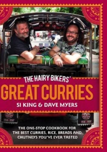 Okładka książki The Hairy Bikers Great Curries Recipe Book