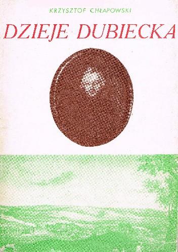 Okładka książki Dzieje Dubiecka