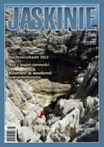 Okładka książki Jaskinie 3/2012