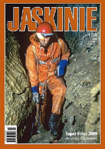 Okładka książki Jaskinie 1/2010