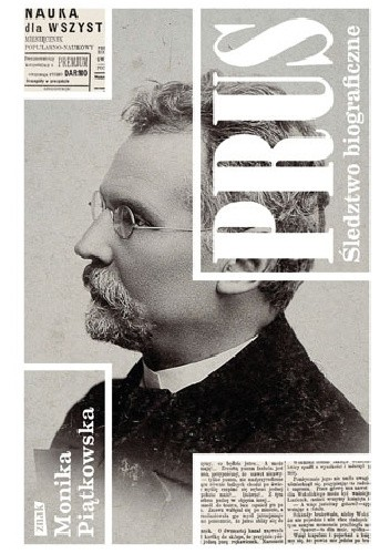 Okładka książki Prus. Śledztwo biograficzne