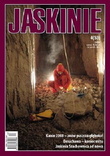 Okładka książki Jaskinie 4/2008