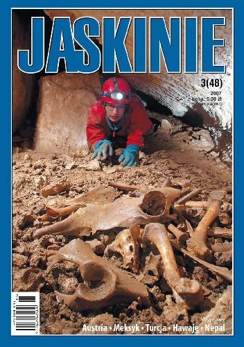 Okładka książki Jaskinie 3/2007