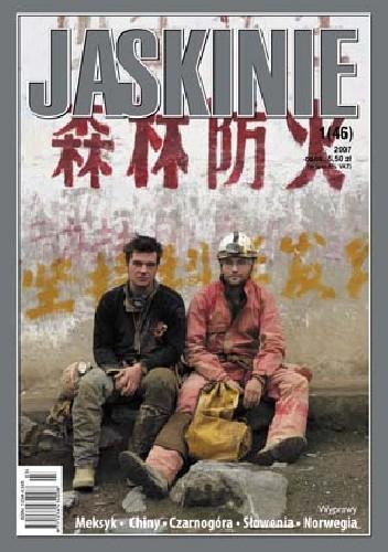 Okładka książki Jaskinie 1/2007