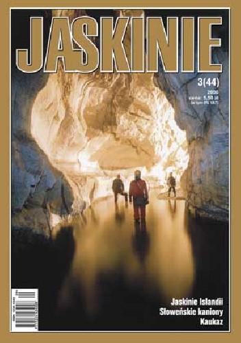 Okładka książki Jaskinie 3/2006