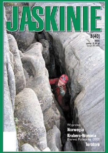 Okładka książki Jaskinie 3/2005