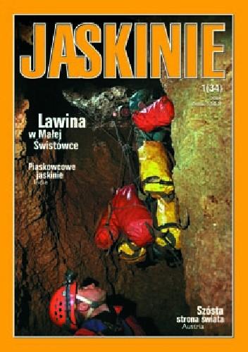 Okładka książki Jaskinie 1/2004