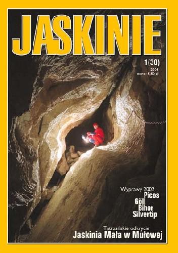 Okładka książki Jaskinie 1/2003
