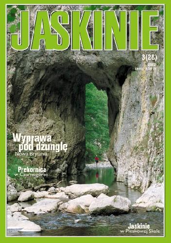 Okładka książki Jaskinie 3/2002