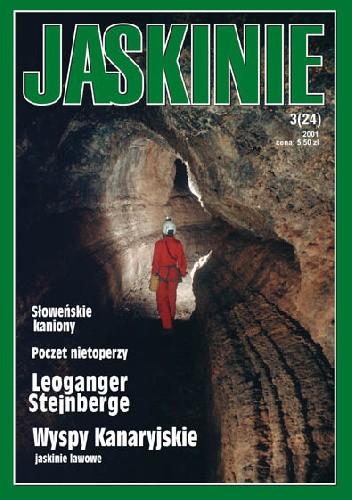Okładka książki Jaskinie 3/2001