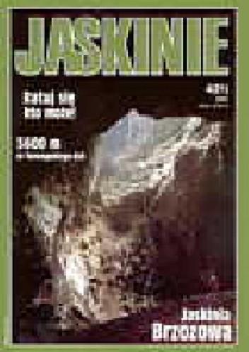 Okładka książki Jaskinie 4/2000