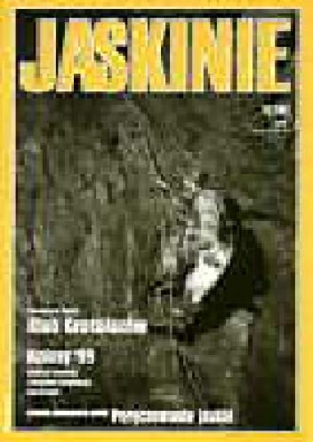 Okładka książki Jaskinie 1/2000