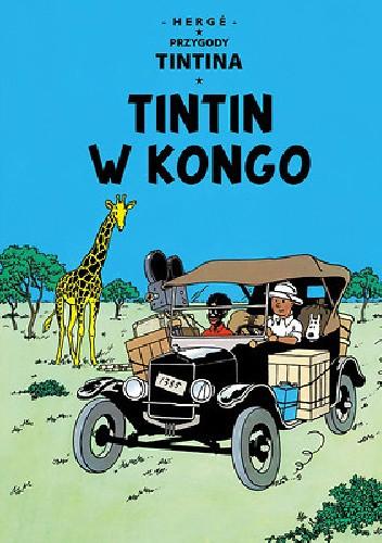 Okładka książki Tintin w Kongo