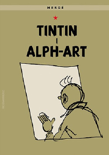 Okładka książki Tintin i alph-art