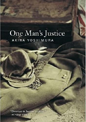 Okładka książki One Man's Justice