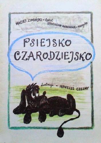 Okładka książki Psiejsko czarodziejsko