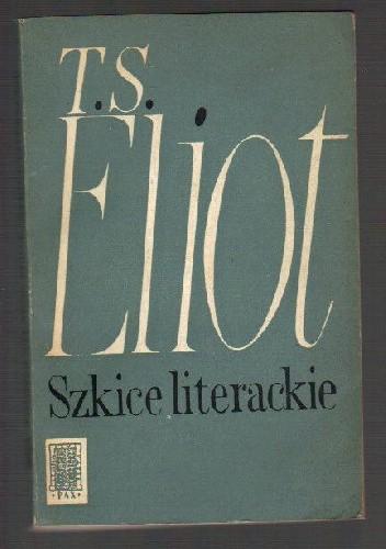 Okładka książki Szkice literackie