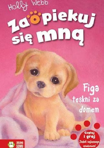 Okładka książki Figa tęskni za domem