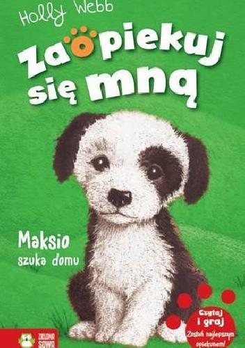Okładka książki Maksio szuka domu