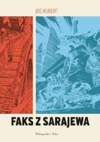 Okładka książki Faks z Sarajewa
