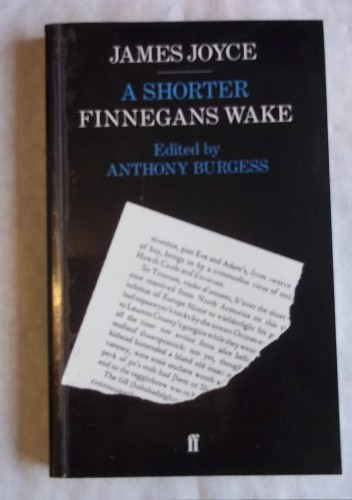 Okładka książki A Shorter Finnegans Wake